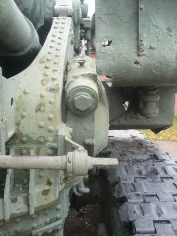 203-мм гаубица образца 1931 года Б-4  (Артиллерийский музей С.Петербург 2013) U0X2Y