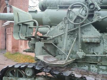 203-мм гаубица образца 1931 года Б-4  (Артиллерийский музей С.Петербург 2013) ULUSr