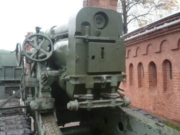 203-мм гаубица образца 1931 года Б-4  (Артиллерийский музей С.Петербург 2013) Zjfmu