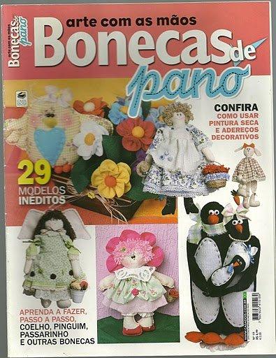 Журналы по шитью кукол. 370d6b06660e