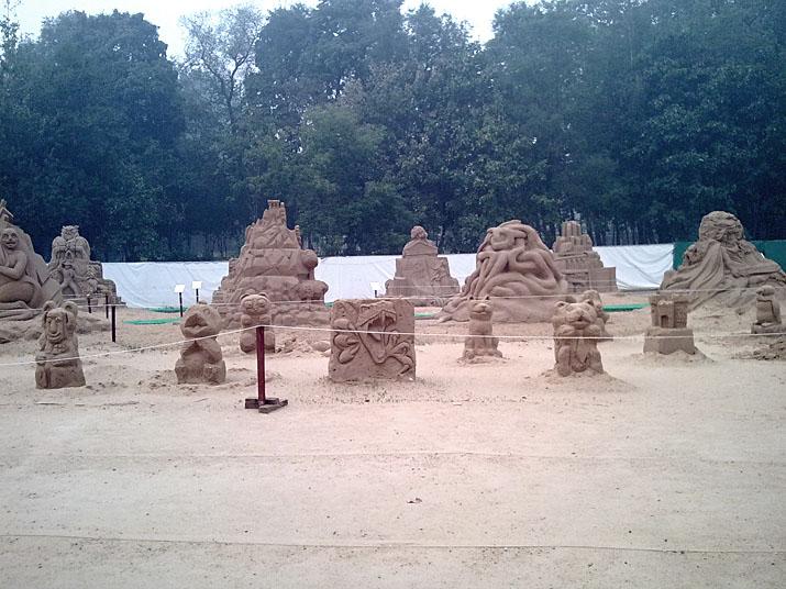 Международный фестиваль песчаной скульптуры на ВВЦ (ВДНХ) 2010 8637194389f2