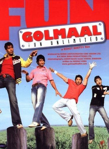 Веселые мошенники / Golmaal: Fun Unlimited (2006) Bd0198fe92ee