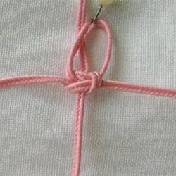 10 плетёных цепочек с бисером в технике макраме F1366d80947a