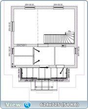 Проект часного дома с мансардой  Eca0b984e684