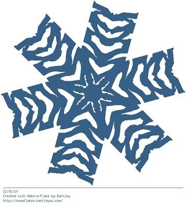 Зимнее рукоделие - вырезаем снежинки! Fa28629184cd
