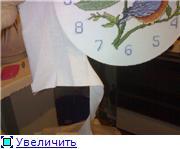 Как вставить вышитый циферблат в часы 951baea0bad9t