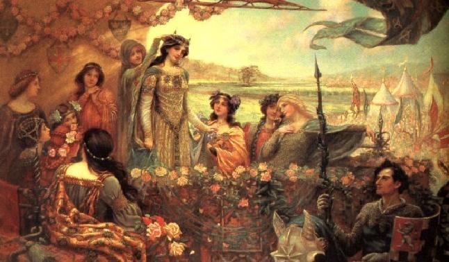 Легенды о Короле Артуре - рыцарские романы... D06fcf448143