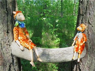Волшебные куклы Алисы Баженковой! D54685d07169