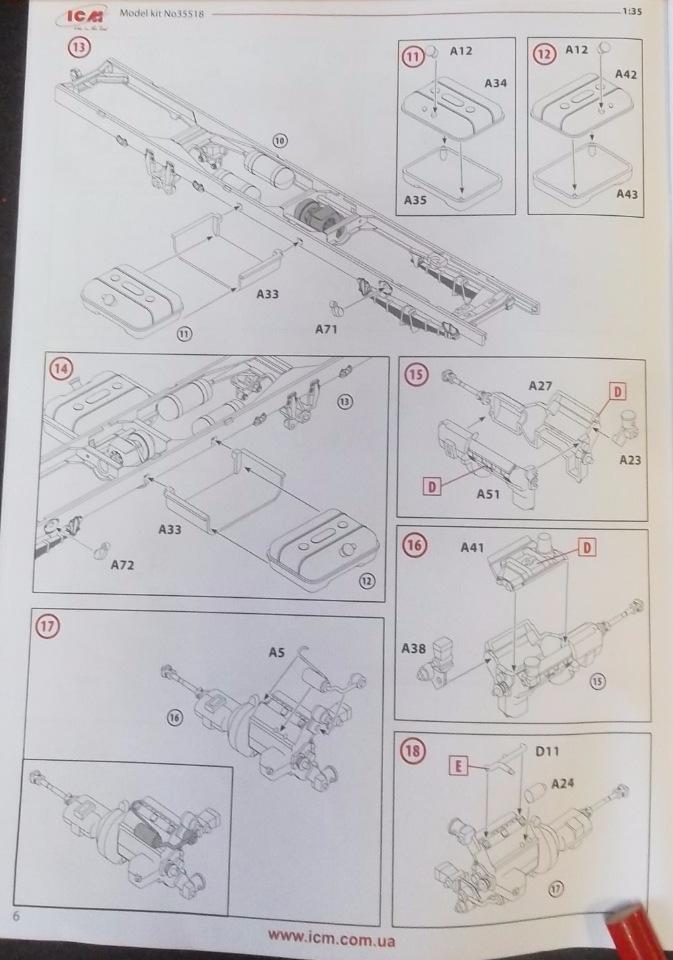 Обзор ЗиЛ-131 Аварийная служба / КУНГ, 1/35 (ICM 35518).  717c4d11e13b