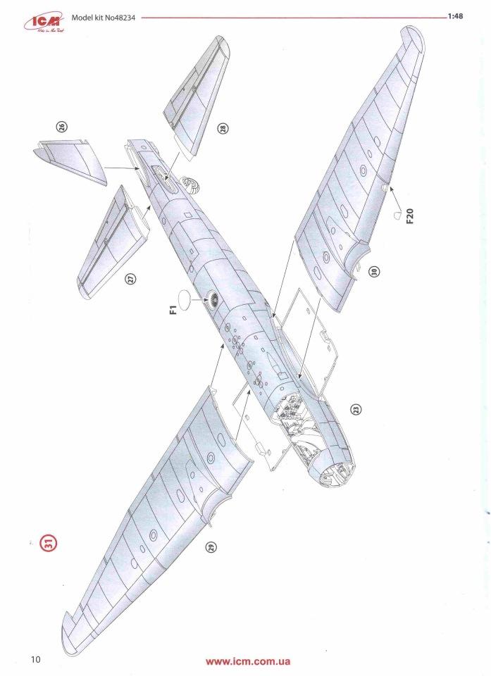 Обзор Ju-88A-14, 1/48, (ICM 48234). C55c1d883453
