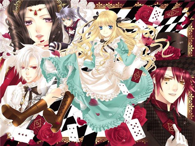 Арты на тему: 'Alice in Wonderland' C80edcb75b00