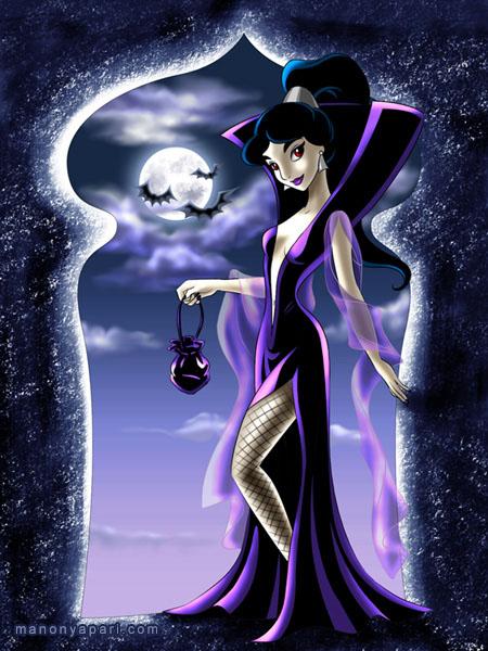 А вот и гости! - Персонажи Хеллоуина E38a3dff7c51