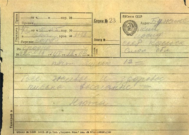 Открытки и другие документы из могил 5306f8b17568