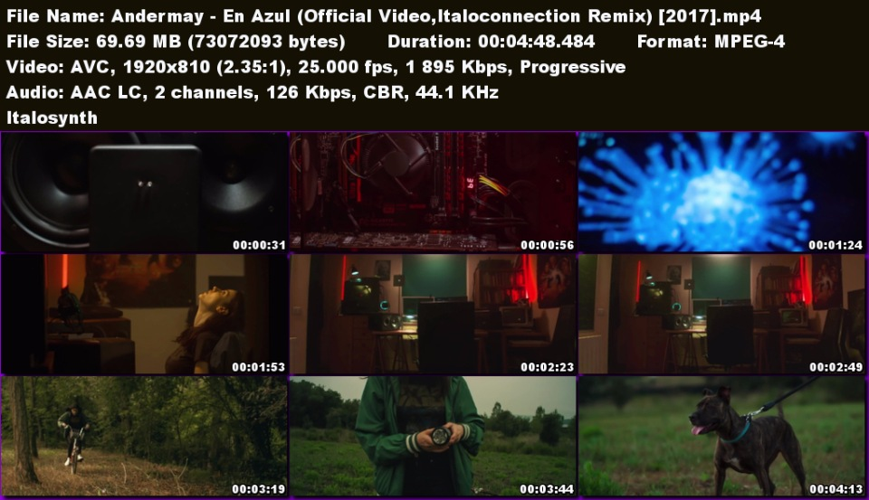 Andermay - En Azul (Official Video,Italoconnection Remix) 177d9f7ccc4c