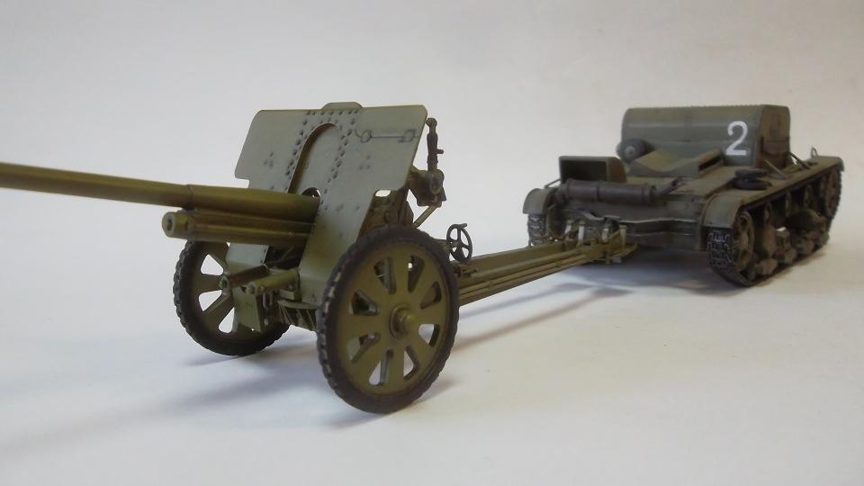 76-мм Дивизионная пушка Ф-22 обр.1936г., 1/35, (ICM 35702). 21a0662dc9aa