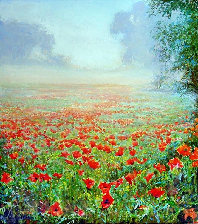 Omiljena slikarska tema Makovi D4fb9567fbf3