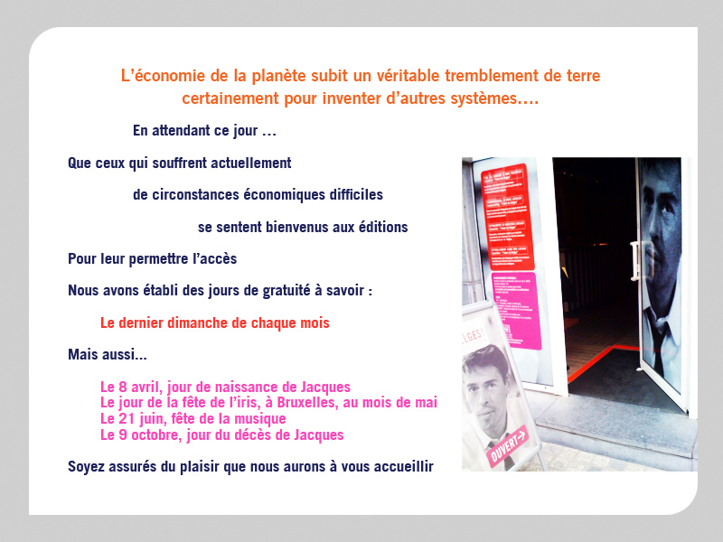 Сайт http://www.jacquesbrel.be и Edition Jacques Brel Bruxelles E063d6bf500f