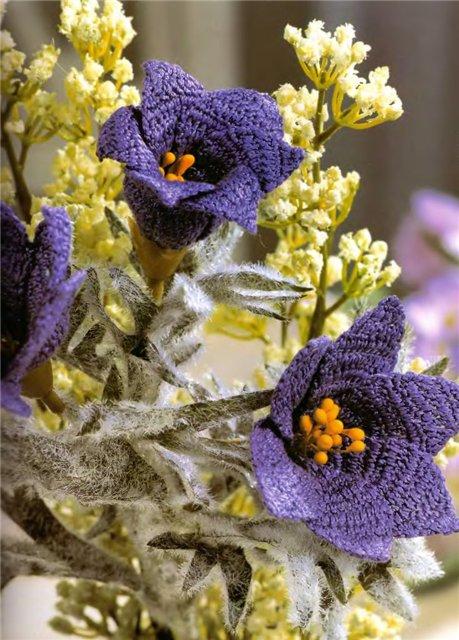 Вязаные цветы E054583a6e62