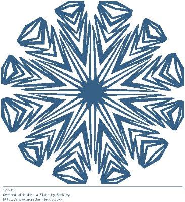 Зимнее рукоделие - вырезаем снежинки! - Страница 10 9e6e2811647f