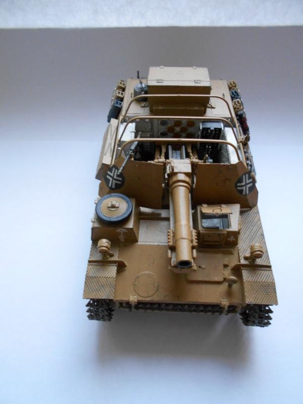 Немецкое 150-мм самоходное орудие Штурмпанцер II 1/35 (Арк модел) 1374b50985d0