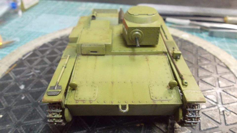 Т-38 малый плавающий танк, 1/35, (Восточный экспресс 35002 / MSD 3522 / AER Moldova). Cf1da3096952