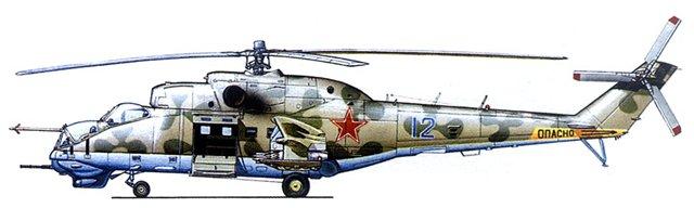 МИ-24В/ВП Звезда, сборка от БТТ шника D8179ae32a42