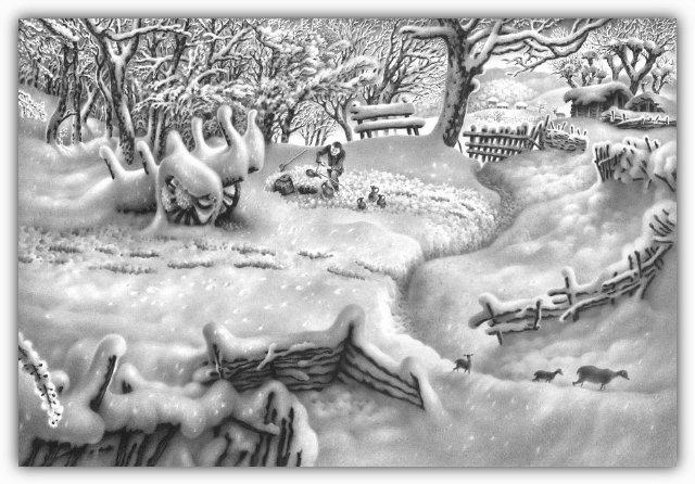 Снег, согревающий душу (Доленджашвили Г.) A692163f8320