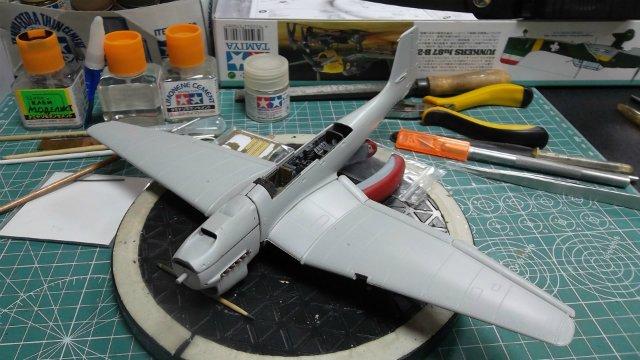 Ju-87 B-2 «Stuka», 1/48, (Tamiya 37008). Cb233415cf31