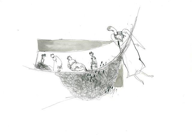 ანგელოზები ქაოსში – ნინო ინჯიას მხატვრობა 8f33fd726bc5