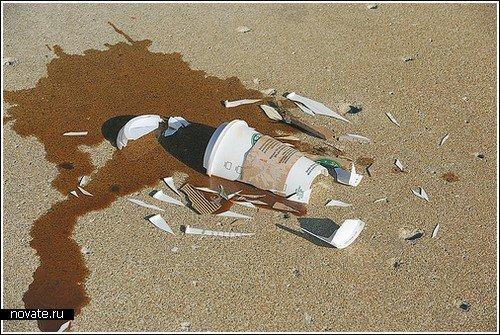Серия снимков «разбитых вдребезги» вещей B91720eb99d9