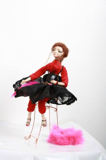 Куклы из самозастывающей и запекаемой пластики 5db247e01499