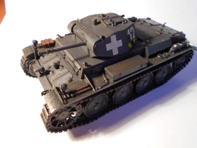 Pz.Kpfw.II Ausf.D 1/35 (Арк Модел) Cab5363f61d6