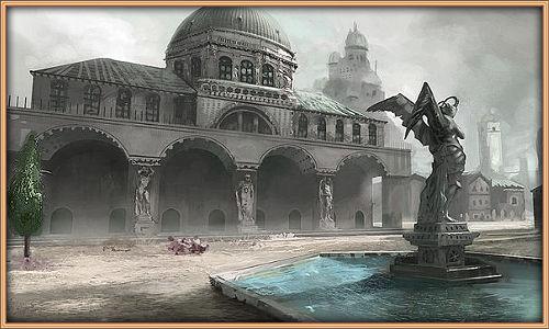 Площадь с фонтаном Db9820c916be