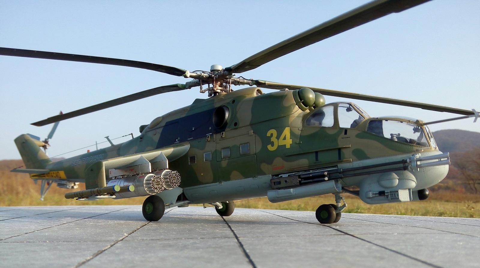 Ми-24П. Trumpeter. 1/35 288d96977a94