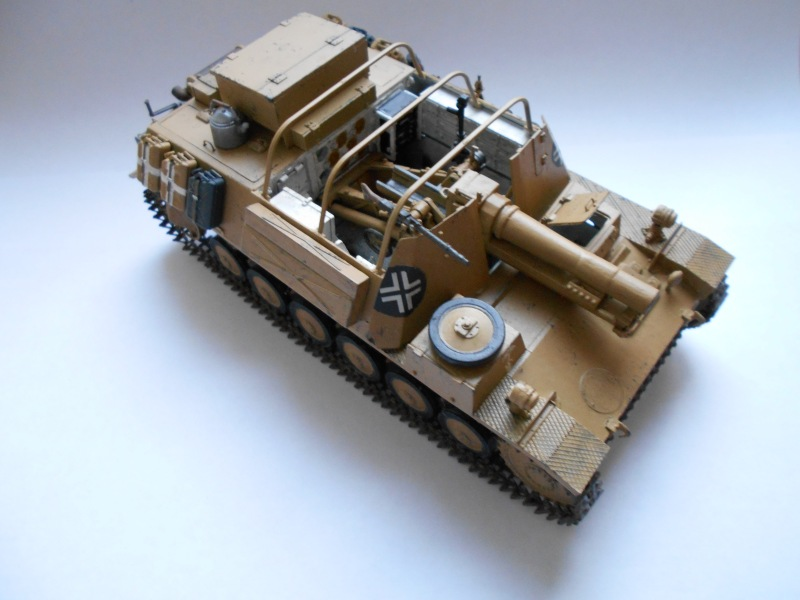 Немецкое 150-мм самоходное орудие Штурмпанцер II 1/35 (Арк модел) B1c4ac8c031b