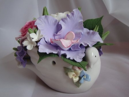 Цветы ручной работы из полимерной глины 55d16b02831a