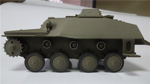 Катюша БМ-8-24 на Т-40, 1/35, (Старт) Fc7f07528d1e