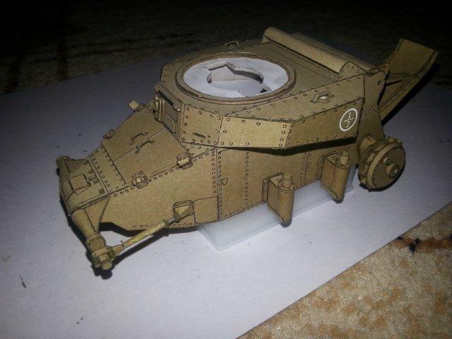 Т-18 (МС-1) Бумажное моделирование №45 22c8b5334a1c