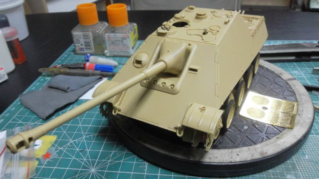 Jagdpanther, 1/35, («Tamiya» 35203). D0fe9d6f897e