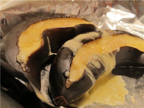 Бананы, запеченные с сыром (десерт) 98aaee4c7ca5