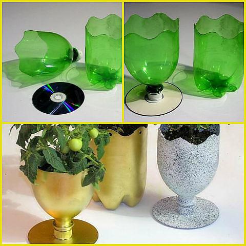 Поделки для дачи своими руками из шин и пластиковых бутылок D52d3fc55b6c