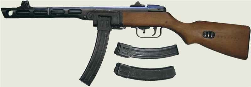 Ствол и ствольная коробка пистолета-пулемета Шпагина (ППШ-41) (ммг) 4a2a36bdb23f