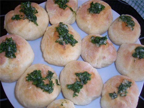 Пирожки, лепешки, бублики (несладкие) 79ba9d7663e0