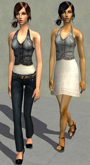 Повседневная одежда (топы, блузы, рубашки) - Страница 2 4b86424049bc