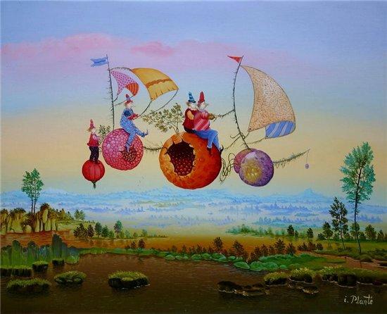 Мир волшебства в живописи. Аллегорические сюжеты. E80b0df06b94
