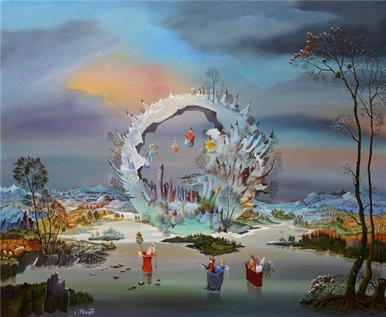 Мир волшебства в живописи. Аллегорические сюжеты. 973910bcd2ed