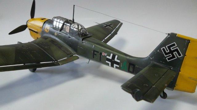 Ju-87 B-2 «Stuka», 1/48, (Tamiya 37008). 608c3176b23f