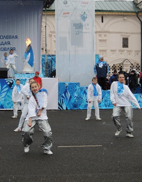 "Эстафета Паралимпийского огня ""Сочи 2014"" в г. Ярославле 562576790f6e"