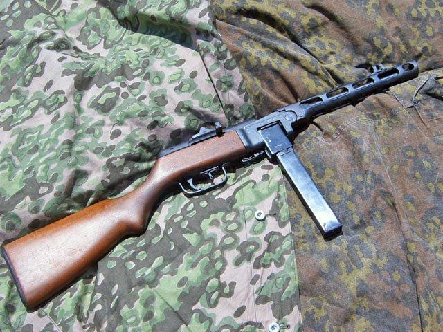 Ствол и ствольная коробка пистолета-пулемета Шпагина (ППШ-41) (ммг) B6f2c473f7bc