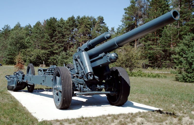 Гильза от 150-мм тяжёлой полевой гаубицы 15 cm sFH 18 6dd6076819d9